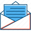 business, document, entrepreneur, mail, message, paper icon