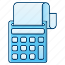 accounting, business, digital calculator, machine, money icon