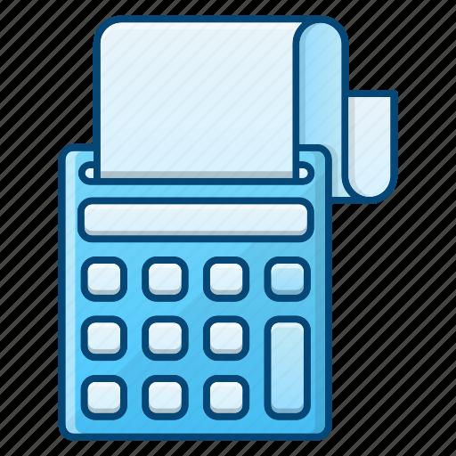 accounting, business, digital calculator, machine, money icon