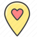 location, marker, place icon