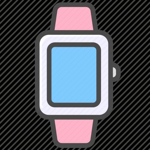 clock, intelligent, timepiece, watch icon