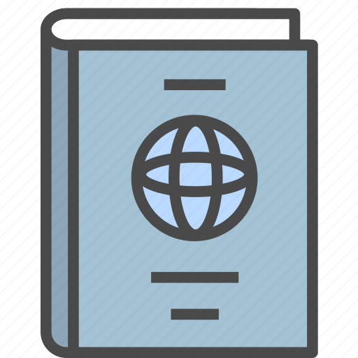 employee card, identification, identity, identity card, passport icon