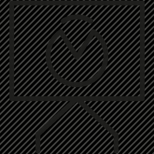 analytics, board, diagram icon icon