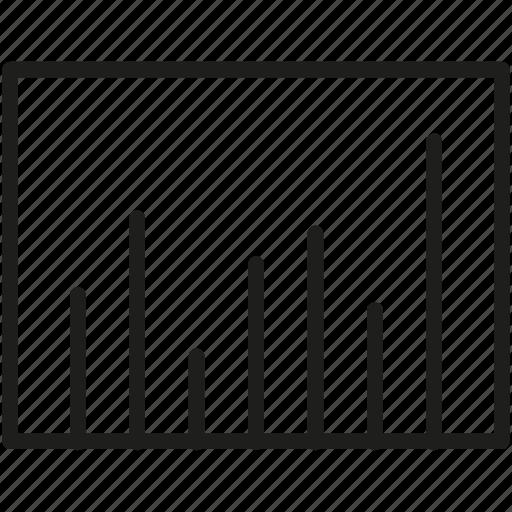 bar, chart, graph, sheet icon, status icon