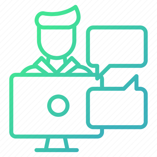 business, conference, help, meeting, presentation, support icon