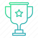 achievement, award, cup, trophy, winner icon