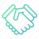 agreement, business, deal, handshake, partnership icon