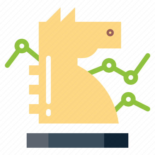 chess, horse, knight, piece, strategy icon