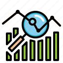 business, chart, finances, financial, statistics icon