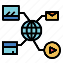 group, network, networking, organization icon