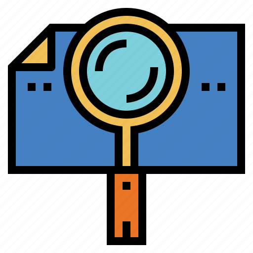 information, lens, search, zoom icon