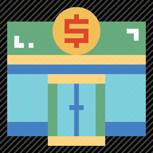 bank, business, cash, money icon