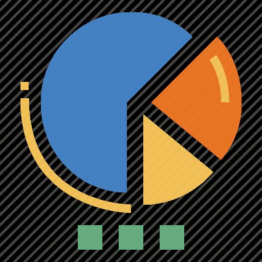 Chart Graphic Marketing Pie Statistics Icon