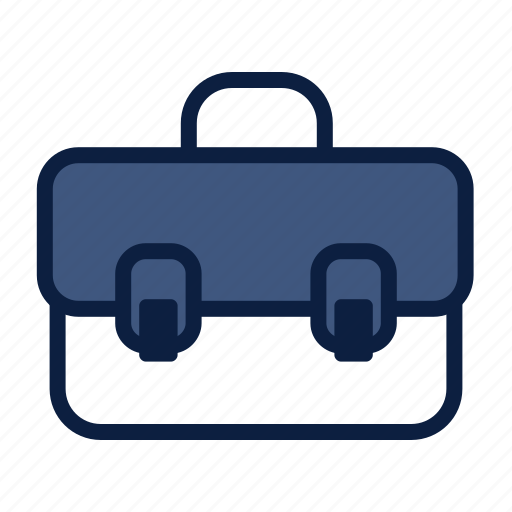 briefcase, business, luggage, travel icon
