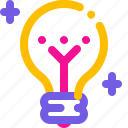 bulb, creative, idea, inspiration icon