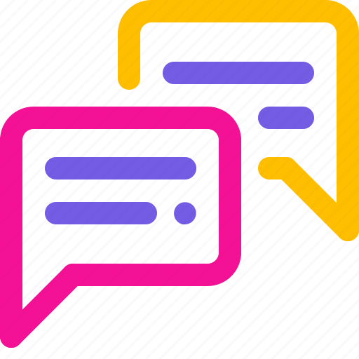 chat, communication, discussion, negotiation icon