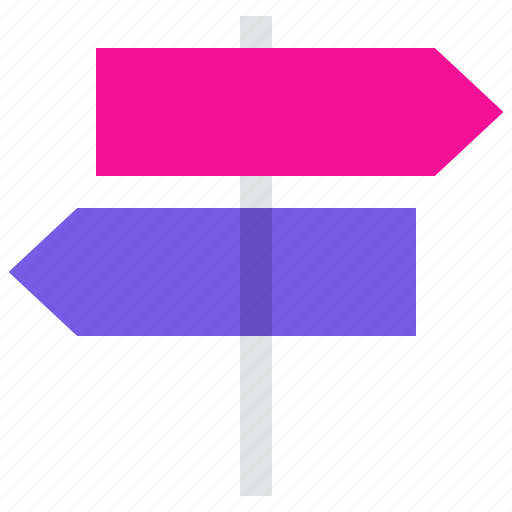 Direction, signpost, crossroad, decision icon - Download on Iconfinder