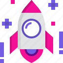 business, launch, rocket, startup icon