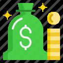 bag, cash, coin, dollar, money icon