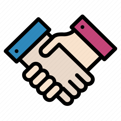 agreement, deal, hand, handshake, partner icon