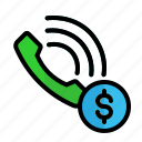 business, call, phone, ring, telephone icon