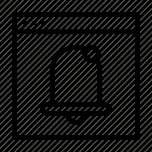 activity, notice, notification icon