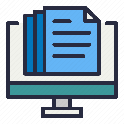 document, list, paper icon