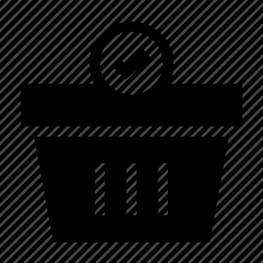 Basket, buy, check, market, shop, shopping icon - Download on Iconfinder