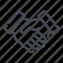 hand, handshake, shake icon