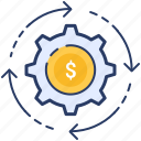earnings, manage, management, monetization, money, money icon, seo icon
