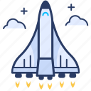 business, launch, project, rocket icon, space ship, startup icon