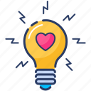 bulb, creativity, electric, electricity, energy, inspiration, light bulb icon