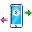 mobile money, mobile money transfer, mobile payment, mobile payment services, money, payment icon