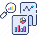 analysis, data, market, research icon icon