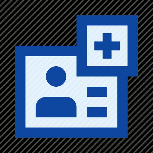 account, add, dossier, file, plus, profile, user icon