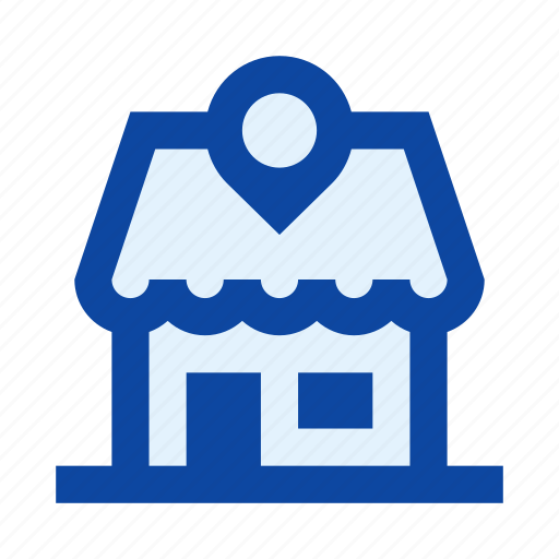 ecommerce, location, map, market, pin, shop, store icon