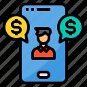 currency, exchange, online, payment, smartphone