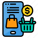 marketing, online, payment, shopping, smartphone