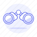 binocular, binoculars, business, explore, observe, search, strategy, vision icon