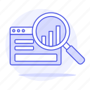 analytics, analyze, app, bar, browser, business, chart, graph, optimize, scan, software, statistic