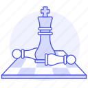 1, board, business, chess, strategy, success, tactic, triumph, win icon