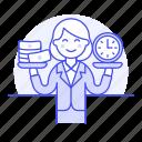 balance, business, cash, efficiency, efficient, money, productivity, strategy, time, woman