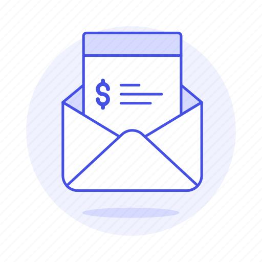 Bill, business, email, invoice, invoicing, letter, mail icon - Download on Iconfinder