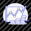 business, line, economic, growth, metaphors, chart, graph, money