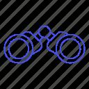 binocular, binoculars, business, explore, observe, search, strategy, vision icon