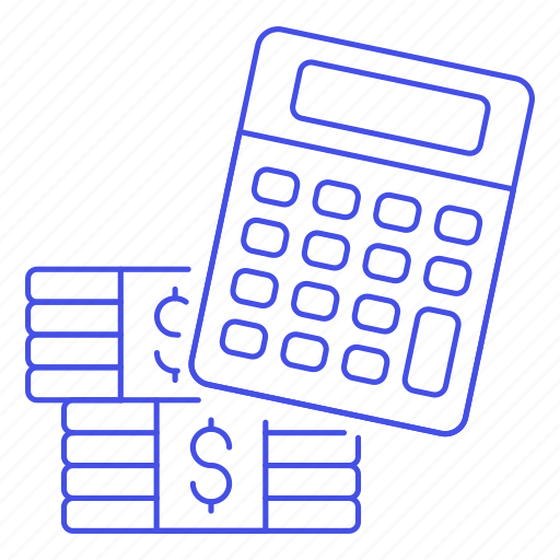 accounting, business, calc, calculating, calculator, cash, cost, count, currency, finance, invoicing, money icon