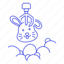 business, claw, crane, growth, machine, profit, success, victory, win icon