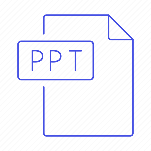 1, business, file, format, microsoft, pc, point, power, ppt, presentation, slides icon