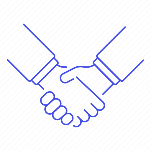 1, agreement, ai, bot, business, contracts, deals, hand, handshake, reality, virtual, vr icon