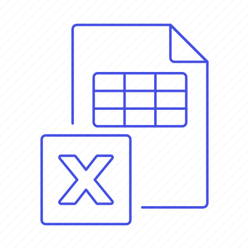 3, business, data, entry, excel, file, microsoft, registry, spreadsheet, table, xls icon